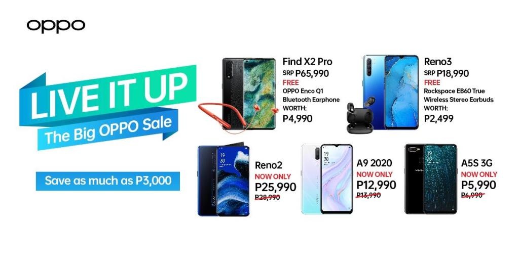 Big OPPO Sale P3000 Off