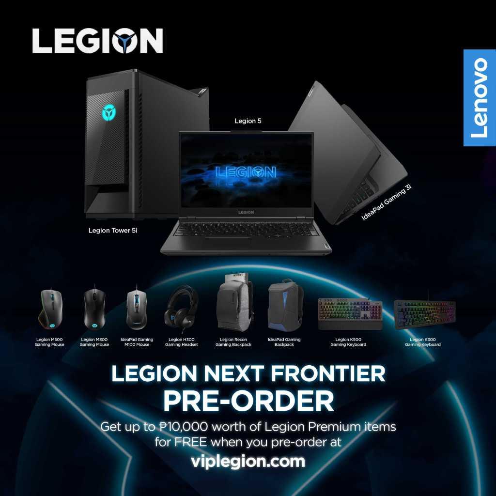 Lenovo Legion Gaming Pre-Order Now!