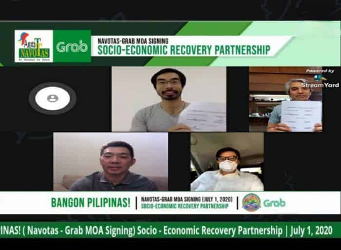 Grab Navotas socio-economic recovery