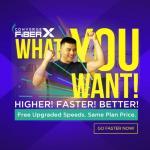 Converge FiberX Free Upgrade 300mbps