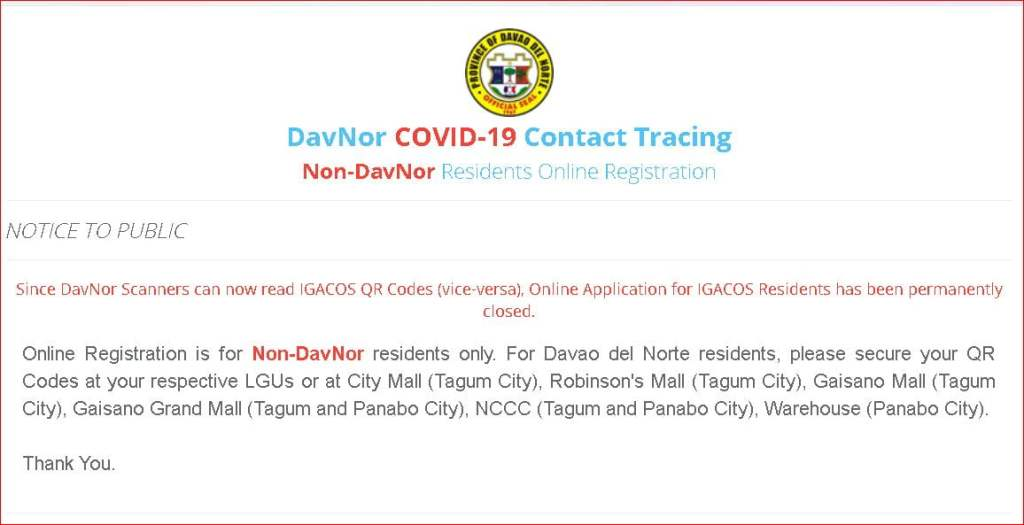 Free QR Code Apps - Davao del Norte