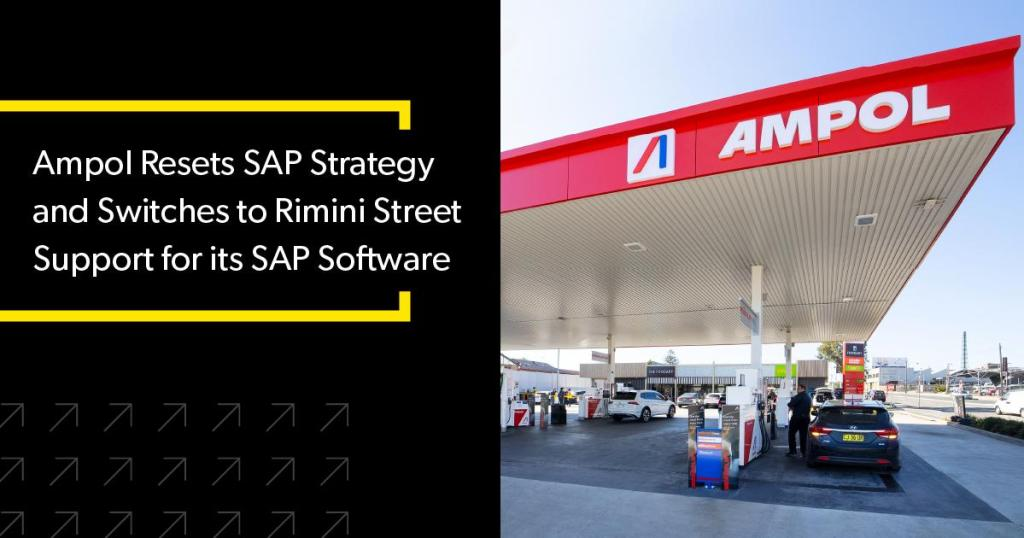 Ampol switches to Rimini street support for SAP Software