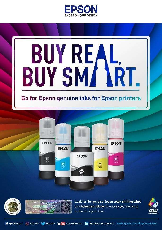 Buy Original Epson Ink