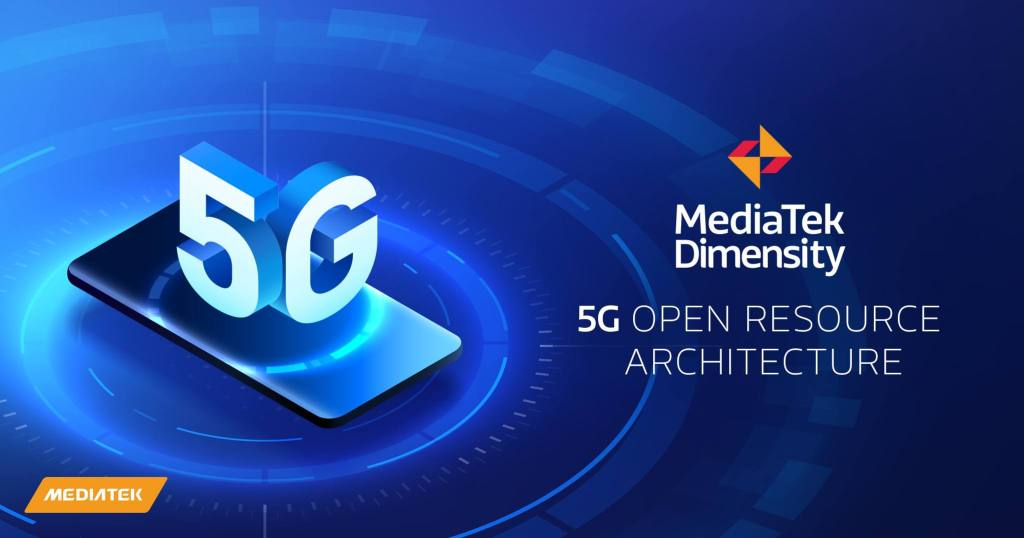 MediaTek Dimensity 5G Open Resource Architecture