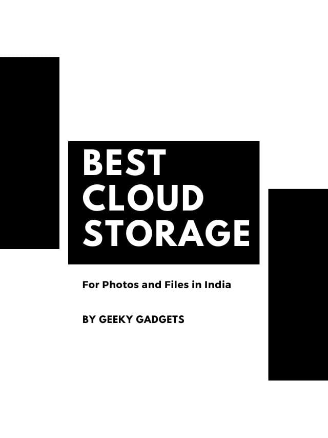 Best Cloud Storage Services in India
