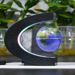 Magnetic Levitation Floating Globe With Multicolored LED Lights