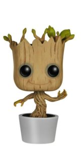 Pop Marvel Dancing Groot Bobble Action Figure, guardians of the galaxy toys