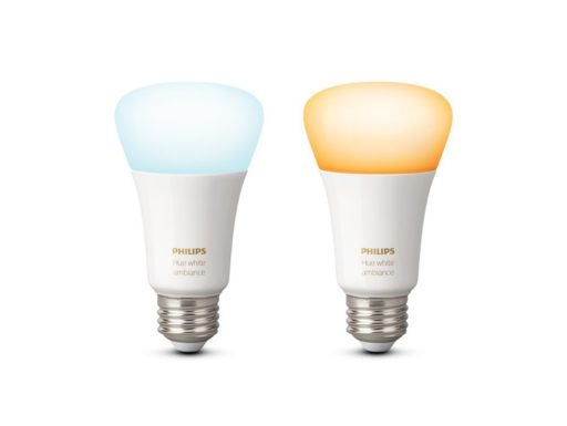 Philips Hue 9.5W E27 bulb (White Ambiance), Compatible with Amazon Alexa, Apple HomeKit, and the Google Assistant