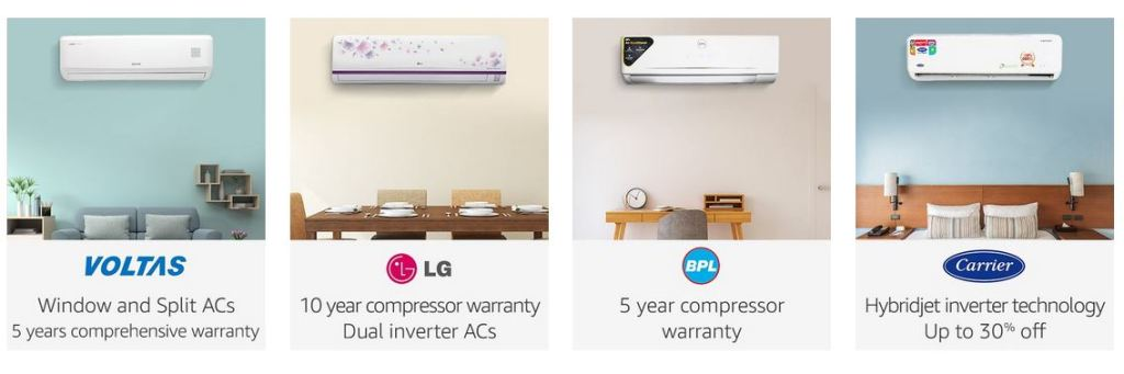 top 10 AC brands in India, best selling ac in india