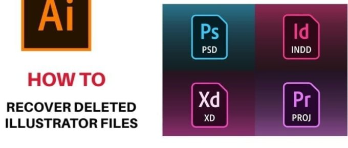 How to Recover Deleted Illustrator File
