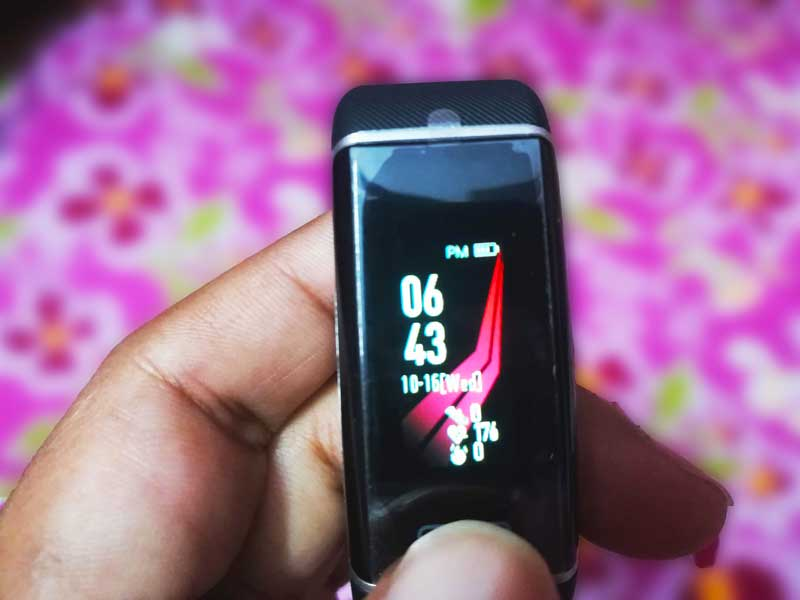 MevoFit Drive R100 Run review, smart fitness band