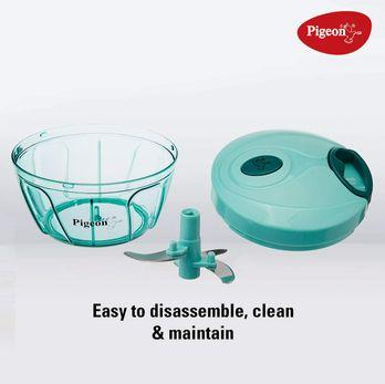 Pigeon by Stovekraft New Handy Mini Plastic Chopper with 3 Blades, kitchen gadgets under 500