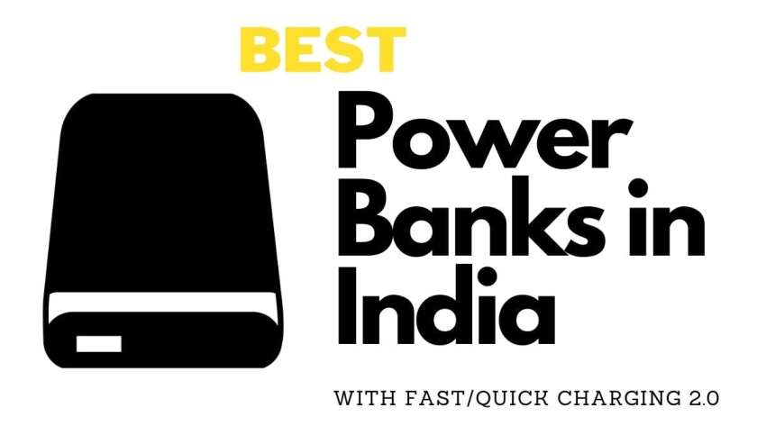 10 Best Power Banks with Fast Charging in India 2