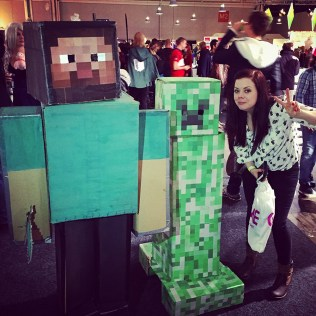 Minecraft Cosplay at GAMEX / Comic Con 2014