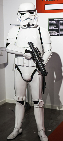 Stormtrooper cosplay at Sci-Fi World Malmö 2015