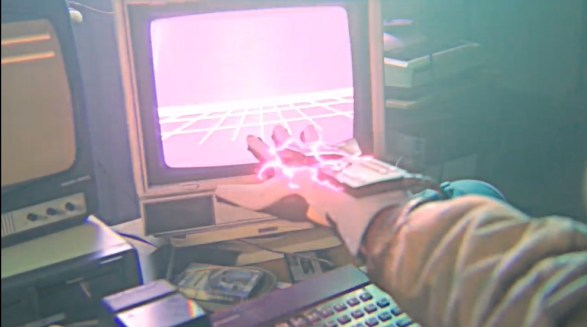 Hackerman hacking with the Power Glove
