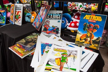 Posters and prints from retro games