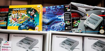 Boxed SNES for sale at RSM