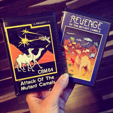 Commodore CBM 64 games from llamasoft