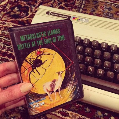 Commodore VIC20 game Metagalactic Llamas