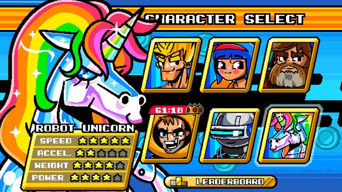 Robot Unicorn!! - Mega Coin Squad Screenshot