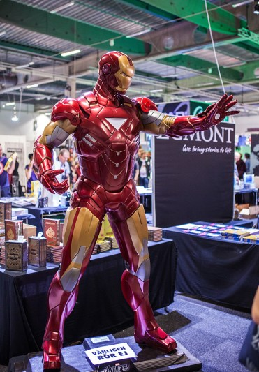 Iron man statue at Comic Con Malmö 2015