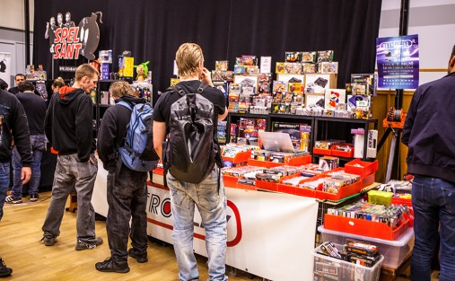 Retro sellers at Retro Gathering
