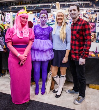 Adventure Time cosplay - ComicCon Gamex 2015