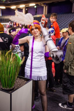 LOL cosplay - ComicCon Gamex 2015