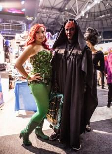 Poison Ivy and Darth Maul - ComicCon Gamex 2015