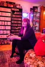 Mooncloud playing Cosmic Ark on Atari 2600
