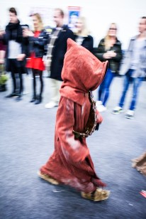 Jawa cosplay at Sci-Fi World