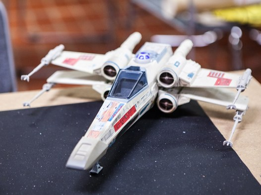 X-wing at Sci-Fi World
