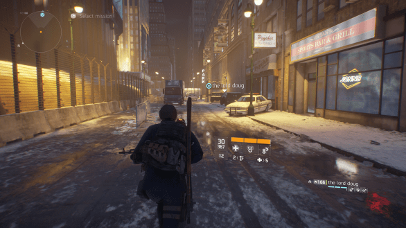 The Division scenery 2