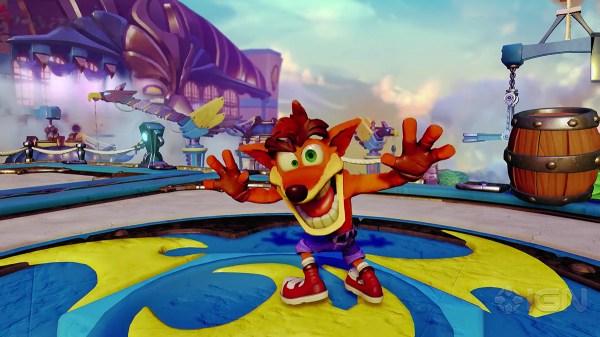 Crash Bandicoot is Crashing the Party