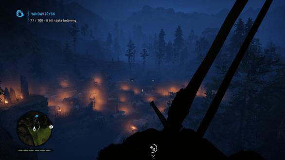 Enemy village