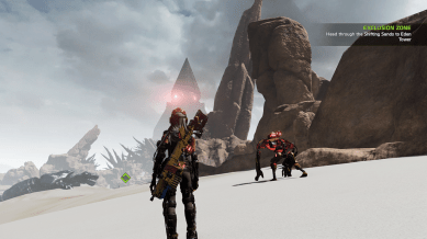 Sandy landscapes in ReCore