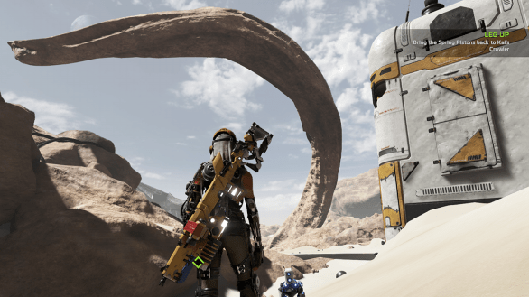 Sandy lanscapes in ReCore