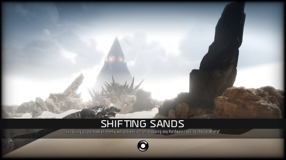 Shifting Sands loading screen - ReCore
