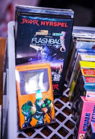 Atari Jaguar and modded Game Boy