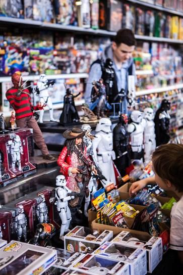 Action Figures Star Wars etc - Sci-Fi World