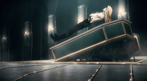 Castlevania Netflix - Alucard