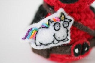 Deadpool unicorn closeup copy