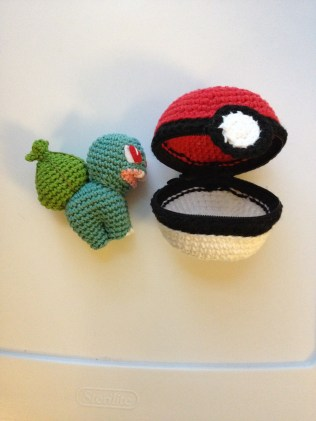 Poke ball and friend