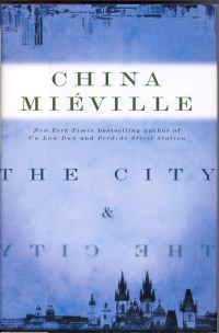 Book Cover, The City and the City