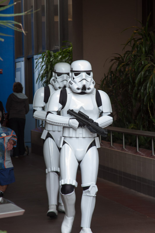 TK-421, is that you? Nope? My bad. Copyright GeekyLibrary