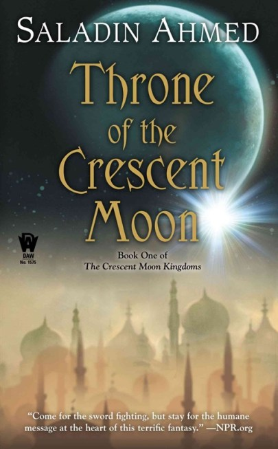 Throne of the Crescent Moon, cover