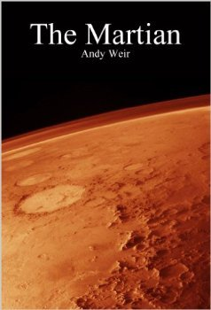 original cover of The Martian by Andy Weir