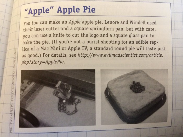 Apple Pie from Cooking for Geeks