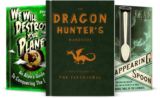 Three Green and Geeky Books
